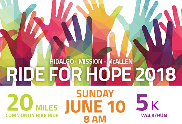 """Join us for our annual Ride for Hope on June 10th! Register your team today and support the Humanitarian Respite Center!&nbsp;&nbsp;<br /> <p><span style=""""font-size: 14pt;""""><a href=""""http://www.myraceregistration.com/eventView.asp?EVID=372&amp;EVSID=718"""">RIDE FOR HOPE 2018</a></span></p>"""